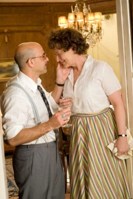 Stanley Tucci as 'Paul Child' and Meryl Streep as 'Julia Child' in Columbia Pictures' JULIE & JULIA. Photo By: Jonathan Wenk. 2009 Columbia Pictures Industries, Inc. All rights reserved.
